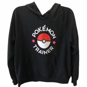Pokémon black hoodie size XXL